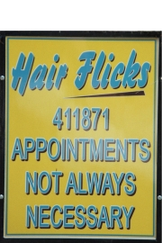 """Hair Flicks"" in York: politically uncorrect hair dressing"