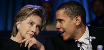 Duell der Kandidaten: Hillary Clinton und Barack Obama