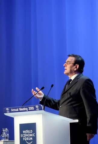"""Ein """"elder salesman""""? Ex-Kanzler Schröder in der Kritik"""