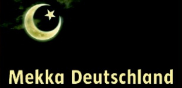"""Spiegel-Titel: """"Mekka Deutschland"""" (Ausschnitt)"""
